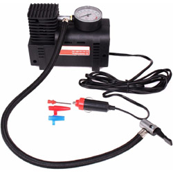 Mini Air Compressor/Electric Tire Inflator Pump Auto 12V Car