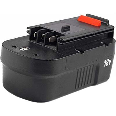Replacement Battery 1500mAh for Black & Decker FS180BX, FS18BX, FS18FL, FSB18, A18