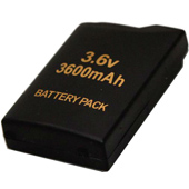 Replacement Expended PSP-S110 Battery for Sony slim PSP-2000, PSP-3000 players