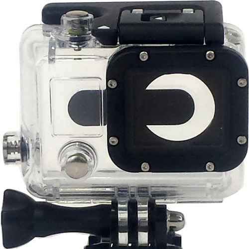 Replacement Underwater Dive Transparent Housing Case for Gopro Hero 3 4