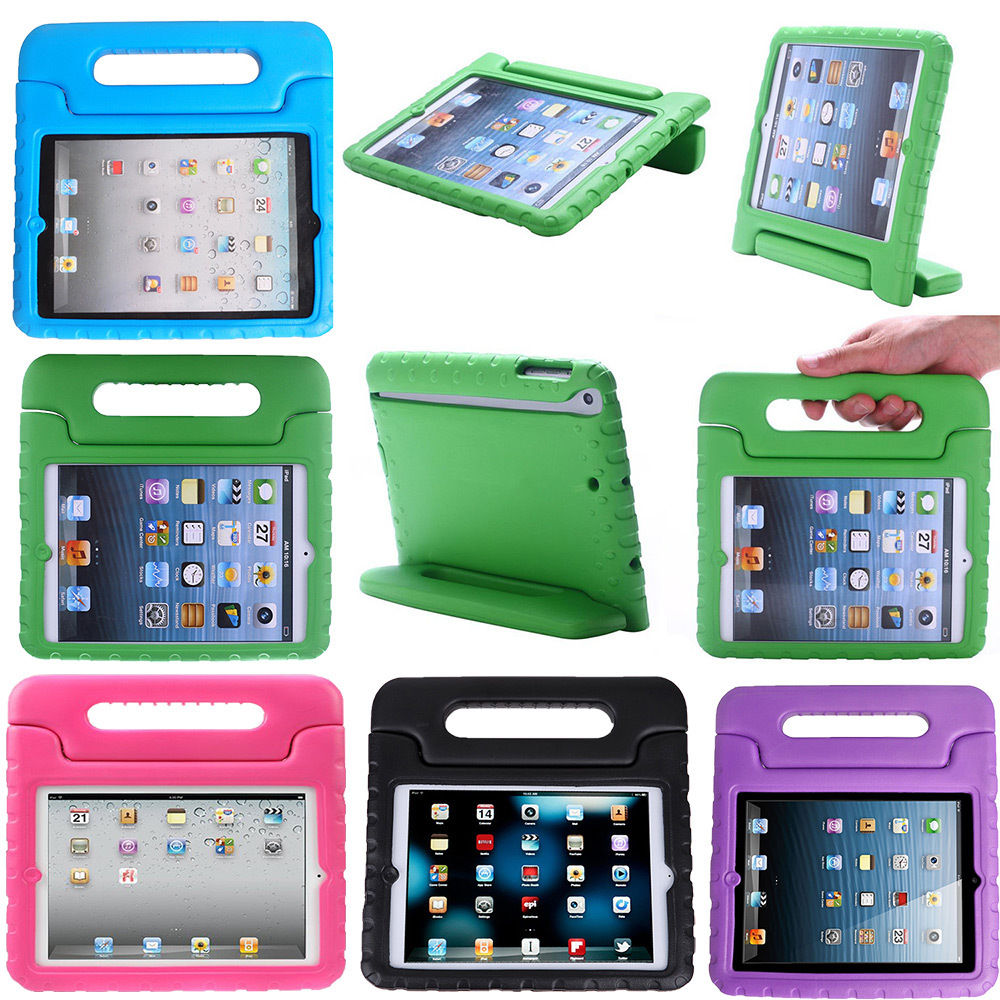 Case for ipad 2 3 4 Kids Shockproof Case Handle Cover Stand