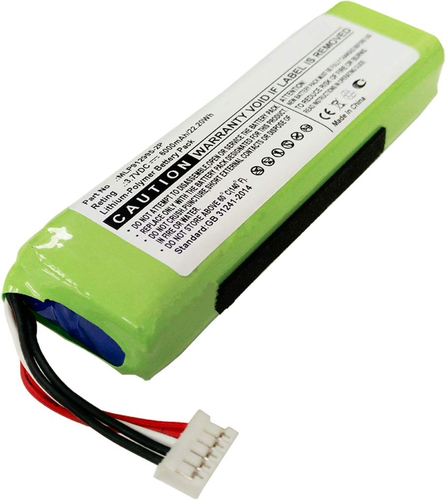 GSP1029102R P763098 Battery for JBL Charge 2 Plus, Charge 2+ MLP912995-2P