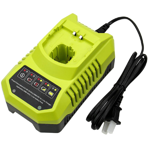 Replacement Battery Charger for Ryobi P117 P100 P102 P103 P104 P105 P107 P108