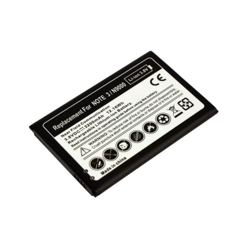 Replacement Battery for B800BU Samsung N900 N900T N900V N900P Galaxy Note 3 Battery