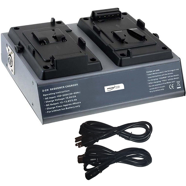 Replacement V-Mount Battery Charger V-Lock for BC-L90 BC-L100 BC-L120 BC-L50 BC-L70 BC-M150 BC-M50