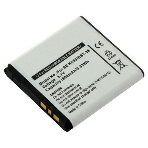 Replacement Battery for BST-38 Sony Ericsson C902 Jalou K630i K660i K850i K858c Battery