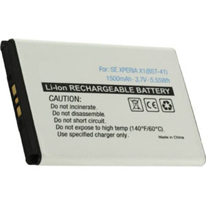 Replacement Battery for BST-41 Sony Ericsson R800a R800at R800i Xperia Play Z1i Battery