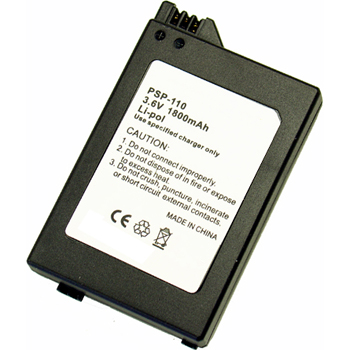 Replacement Battery for PSP-110 Sony PSP-1000 PSP-1001 Battery