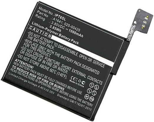 Replacement for A1641 A1574 iPod Touch 6 6th Gen Battery 020-00425